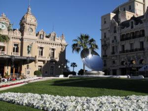 Вверх к княжеству Монако