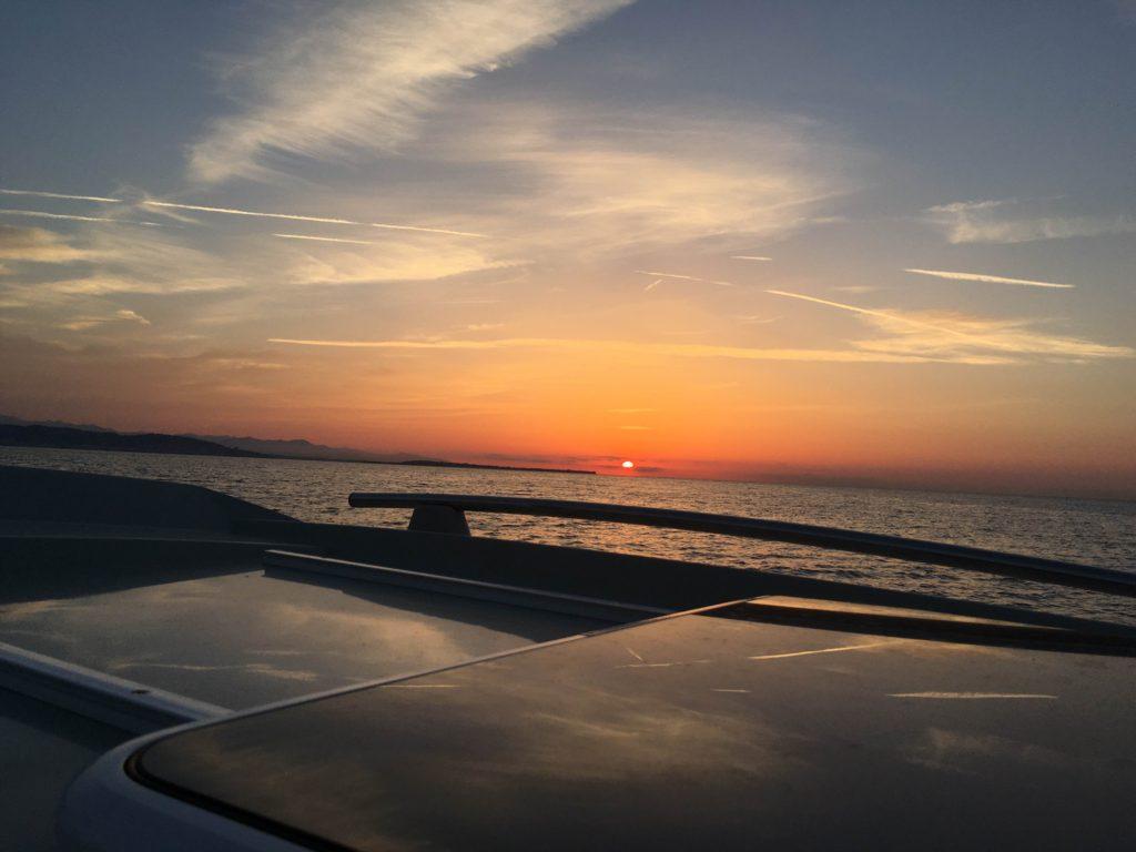 Вечерняя морская прогулка