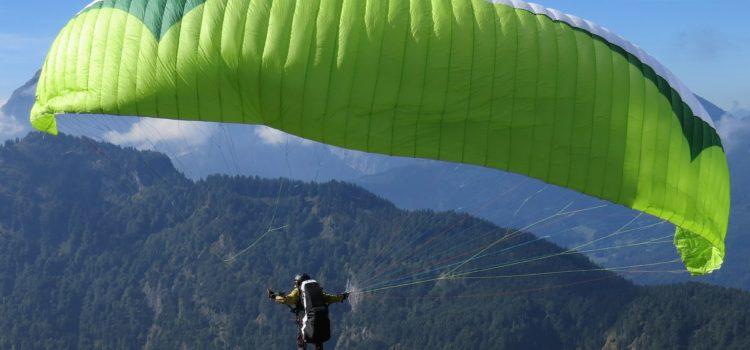 Полет на параплане или воздушном шаре